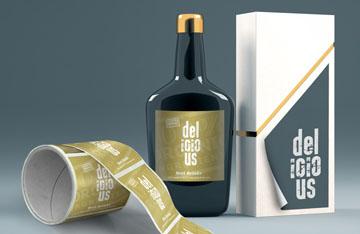 Design, Förpackning, Klistermärken, etiketter
