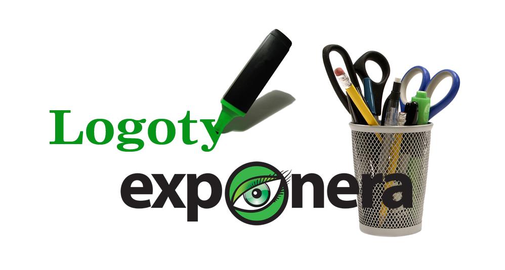 Logo, Logga, Logotyp & Design. Exponera Media vårt företags varumärke, Vi visar våra rätta färger.