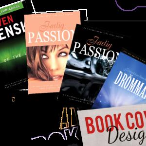 Book Cover - Bok omslag. Design, Layout & Grafisk Produktion. Exponera Media