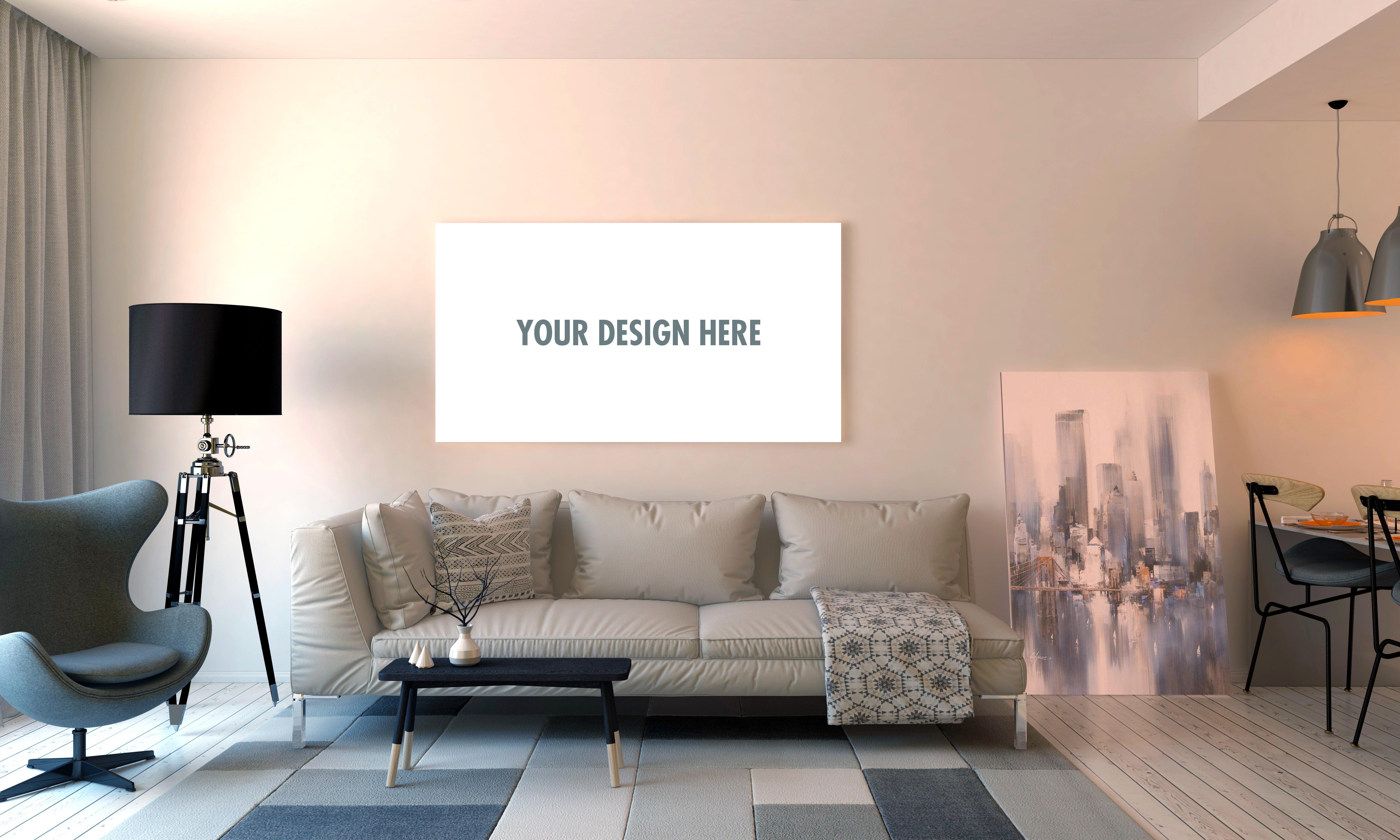 Designa din egen tavla, canvas, poster eller skylt i olika material