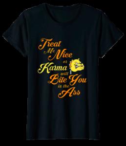 Bulldog Tshirt. Karma The bully dog!