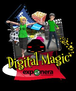 exponeramedia digital magic visitkort