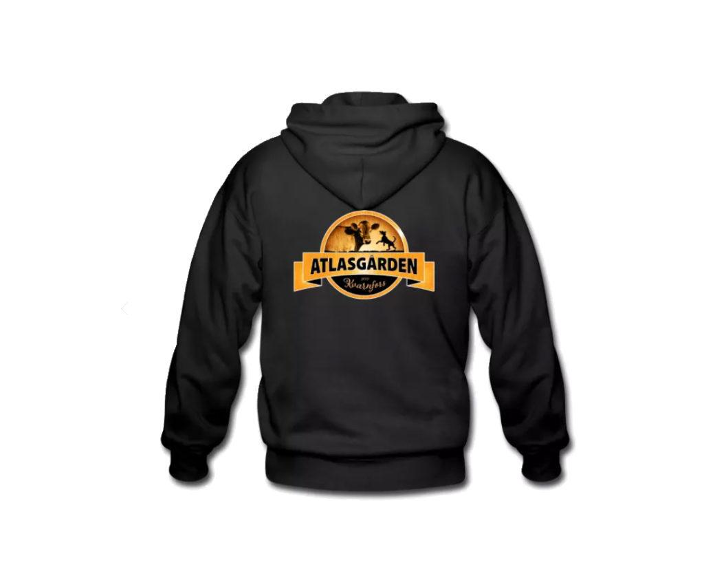 Profilprodukter Logotype logga på en hoodies