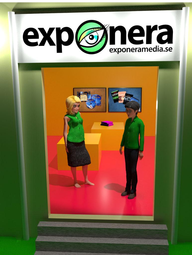 vår digitala reklambyrå med 3D modeller